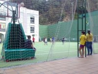 Supervision monitores polideportiva