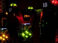 Chalecos de juego laser space