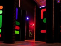 Laberinto laser space