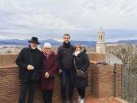 Parejas de turismo en Girona
