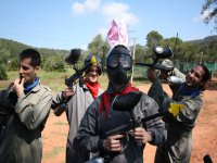Despedida de soltero con paintball