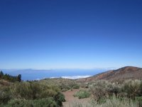 view of the teide with a clear sky