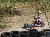 Kart a pedales en Huelva