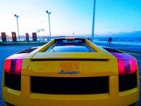 Lamborghini posteriore
