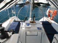 Mesa en la cubierta