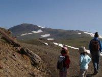 内华达山脉和哈拉斯徒步可达3000米以上