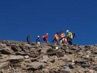整天攀登到内华达山脉的山峰