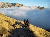 Caminando por el Pico de Midi