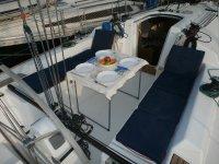 Mesa para comer a bordo