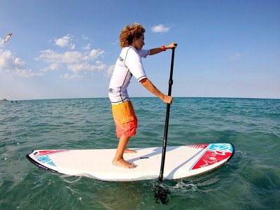 Paddle surf rental in Cabo Cervera beach 1 h