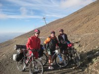 Salite in bicicletta