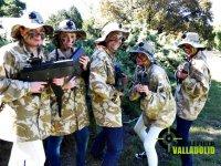 Practicar laser combat en Valladolid