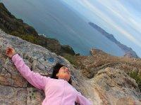 放松蹦极事件和自然教育径