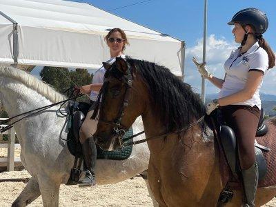 Clase de equitación en Alhaurín de la Torre 1 hora
