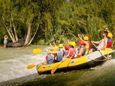 Descenso de rafting río Segura precio niño Premium