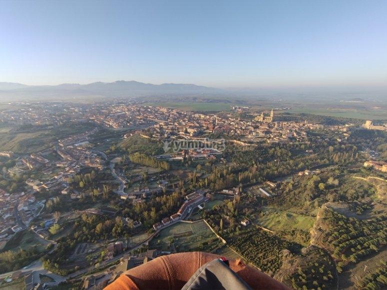 Try a balloon flight in Toledo