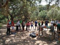 Team building all'aperto