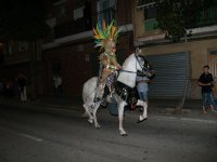 Participation in carnival with horses