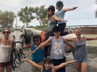 Weekly equestrian camp with Felanitx food