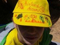 Gorra natural amarilla