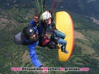 Parapente biplaza en Granada