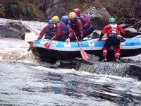 Descenso de rafting para grupos