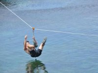 zip line over the sea