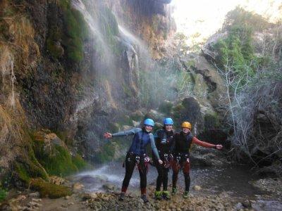 Descenso del barranco de Las Chorreras Río Cabriel