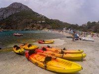 Ruta en kayak por la costa de Jávea 2 horas