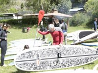 准备董事会和划船sup
