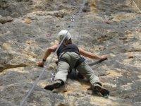 Escalando en Sobron