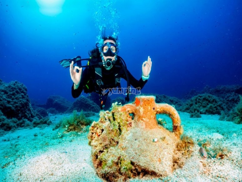 地中海潜水礼拜