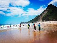Campamento de surf en Llanes 7 días