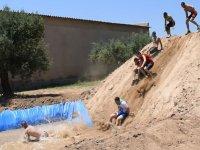 Piscina di pendii e fanghi a Salou