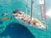Disfrutando de un party boat por Alicante