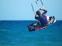 Holding the kite. JPG