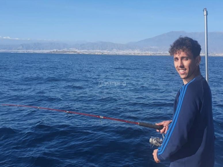 Tarde de pesca por la Costa Almeriense