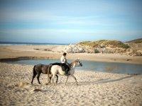 Ruta a caballo a la playa del Estuario 2 horas