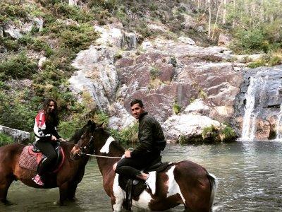 Ruta a caballo a las Pozas de Mougás 2 horas