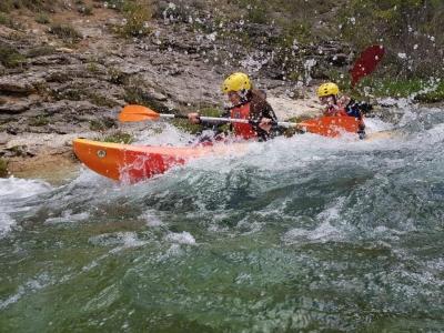 Rafting tra le rapide dell'Alto Tajo con picnic