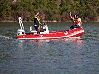 a family boat ride