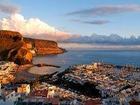 Vista del Puerto de Mogán (Gran Canaria)