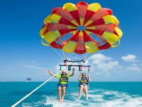 Parasailing on the Costa Blanca