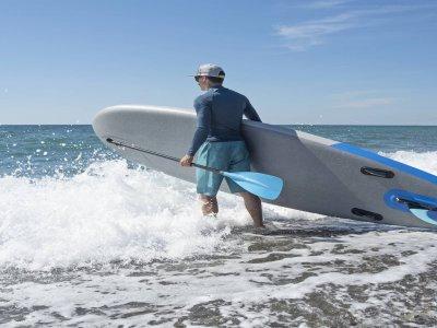 Curso de paddle surf en Playa de Heliópolis 90 min