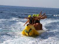 Alicante in banana boat