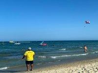 Alicante in parasailing
