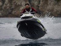 Driving a jet ski in Alicante