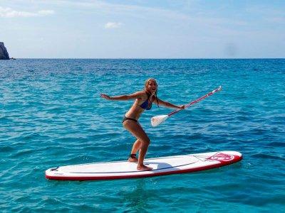Bono alquiler paddle surf en Playa Heliópolis 5h