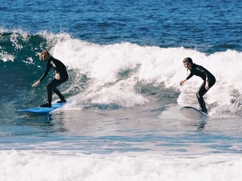 Clases de surf en Tenerife