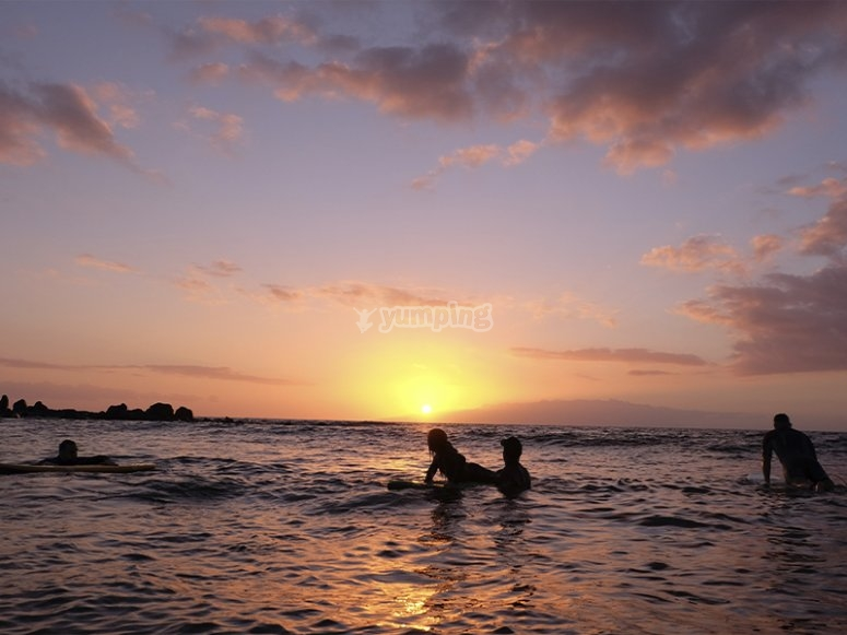 Clases de surf para principiantes